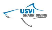 An image of the USVI Shark Diving Logo